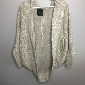 Zara Knit Chunky Circle Cardigan